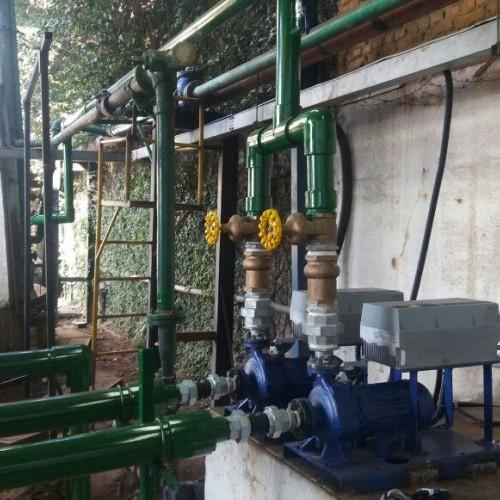 Inversores e painéis para Automação de Bombas de recalque e elevação de água